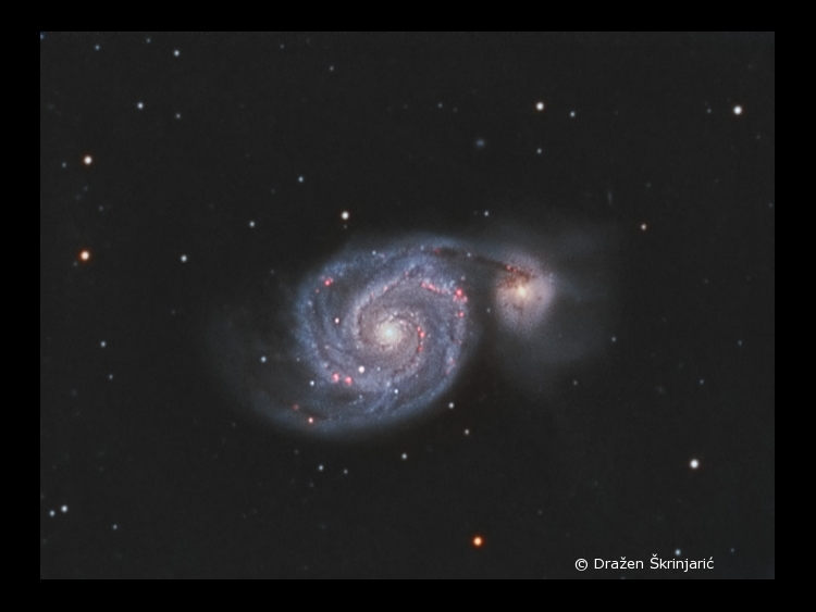 M51 (Whirpool galaxy)