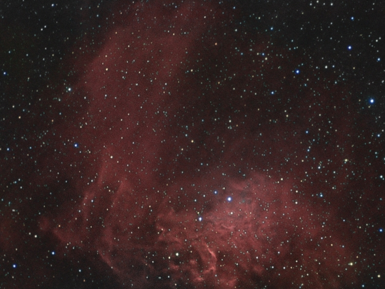 IC405 (The Flaming Star Nebula)