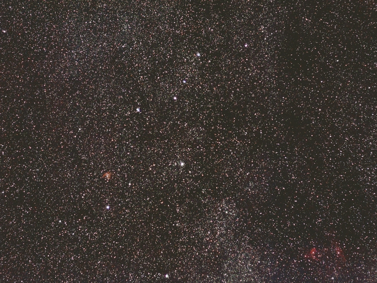Cassiopeia widefield