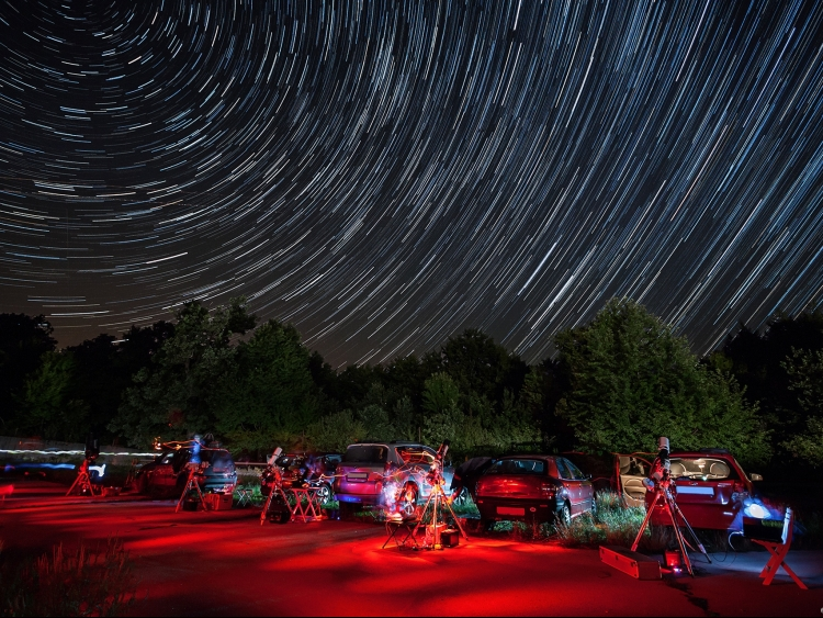 PGSP 2015 - star trails